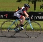 Tom in John Hinksman Memorial Circuit Race