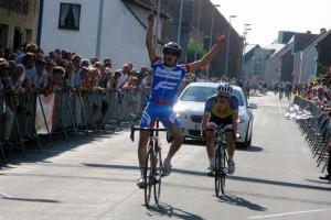 James winning in Belgium