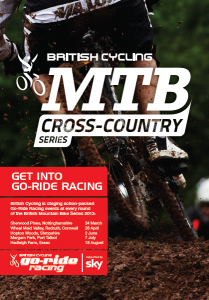Go-ride at MTB XC