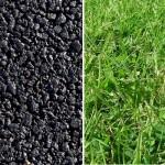 tarmac vs grass