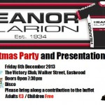 Christmas party and prize presentation