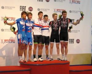 Junior Madison podium