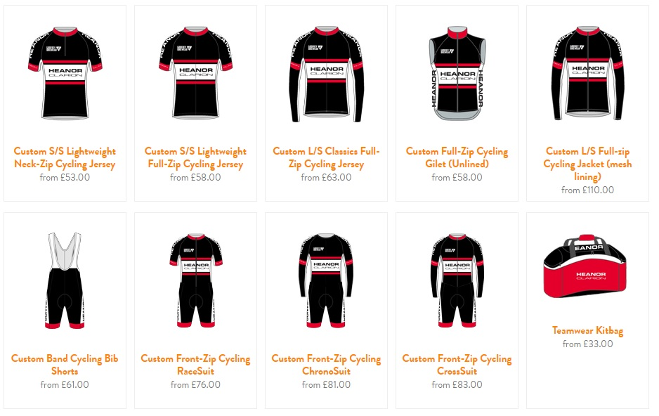 Godfrey club kit 2015